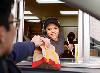 Drive-thru McDonald's